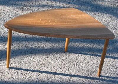 Sideboard Soft Triangle i massiv ek